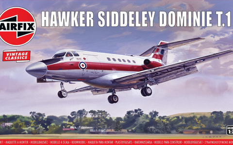 Hawker-Siddely Dominie T.1 (Vintage Classics)  1/72