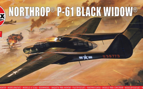 Northrop P-61 Black Widow (Vintage Classics)  1/72