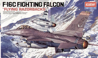 "Lockheed-Martin F-16C Fighting Falcons ""Flying Razorbacks""  1/48"