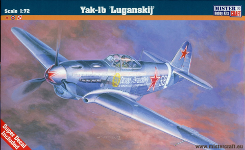 Yak-1b Soviet Fighter  1/72