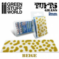 Grass Tufts 2mm Self Adhesive  Beige