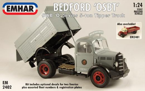Bedford 'O' Series Short Wheel Base Tripper   1/24