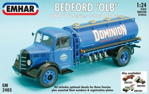 Bedford 'O' Series LWB Tanker   1/24