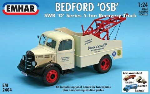 Bedford 'O' Series SWB Recovery Truck   1/24