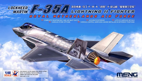 Lockheed-Martin F-35A Lightning II Netherland Air Force	 1/48