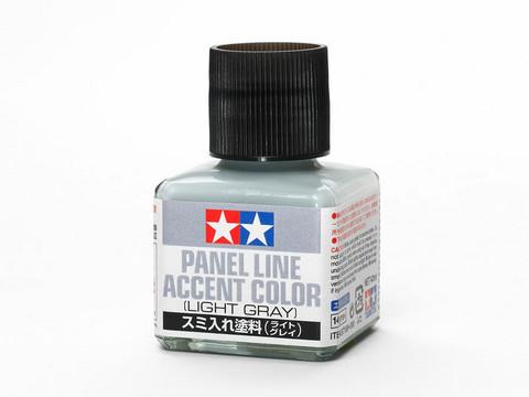 Panel Line Accent Color Light Grey