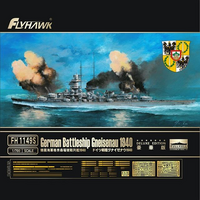 German Battlecruiser Gneisenau 1940 Deluxe Edition  1/700