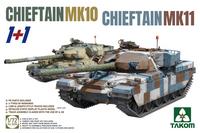 Chieftain Mk.10 & Mk.11 (1+1 Two kits combo)  1/72
