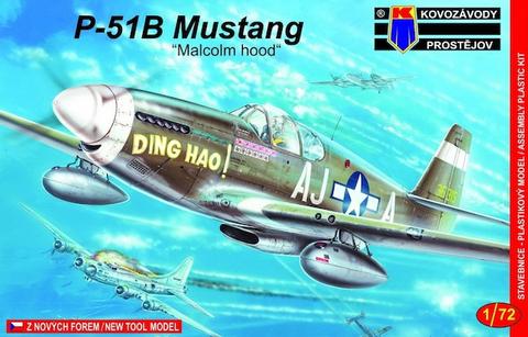 P-51B Mustang (Malcom Hood)  1/72