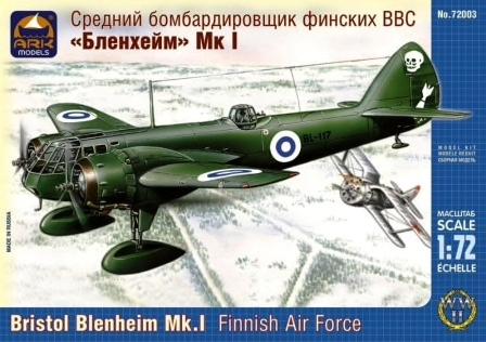 Bristol Blenheim Mk.I Finnish Air Force   1/72