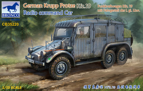 Krupp Protze Kfz.19 Radio Command Car     1/35