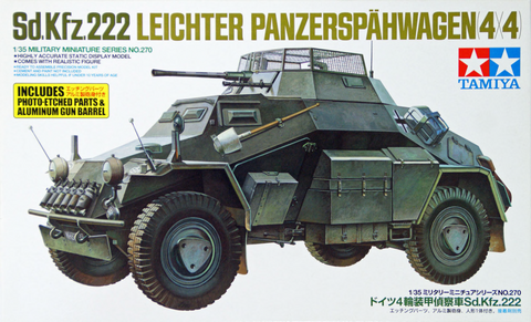 SdKfz 222 with Photo-Etch  1/35