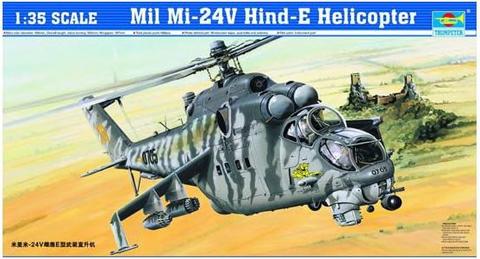 Mil Mi-24V Hind-E  1/35