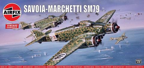 """Savoia-Marchetti SM.79 """"Vintage Classics""""  1/72"""