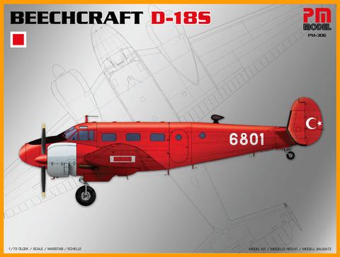 Beechcraft D-18 (C-45) Turkish Air Force  1/72
