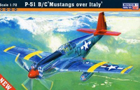 P-51B-7 Mustang Over Italy  1/72