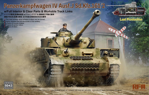 PzKpfw IV Ausf.J Last Production with Full Interior  1/35