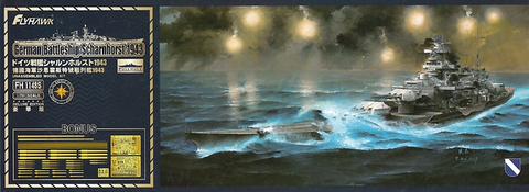 German Battleship Scharnhorst 1940 Deluxe Edition  1/700