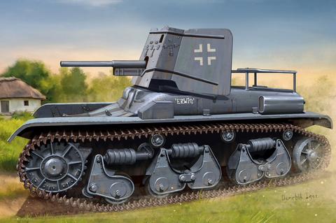 3.7cm PaK 35/36 auf PzKpfw 35R(f)  1/35