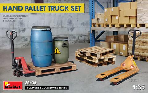 Hand Pallet Truck Set