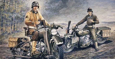 US Army Harley Davidson   1/35