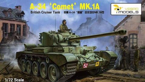 A34 Comet Mk.IA British Cruiser Tank