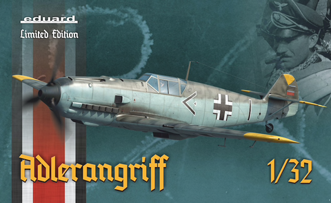 """Adlerangriff""  Messerschmitt BF109E (Limited Edition)  1/32"