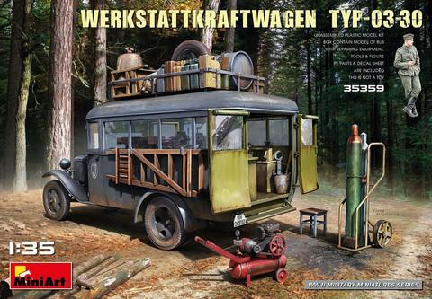 Werkstattkrafwagen Typ-03-30  1/35