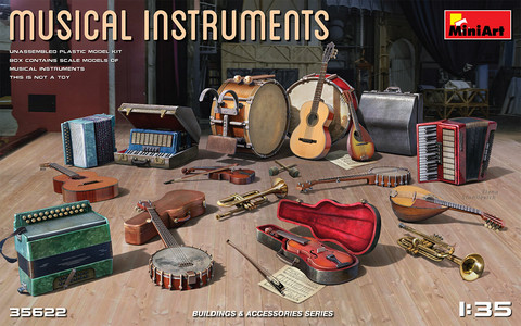 Musical Instruments1/35