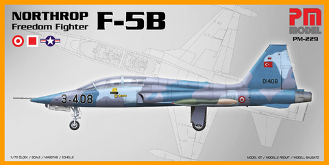 Northrop F-5B Freedom Fighter  1/72