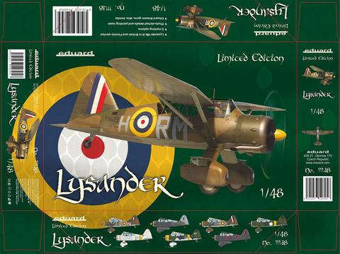 Westland Lysander (Limited Edition)  1/48