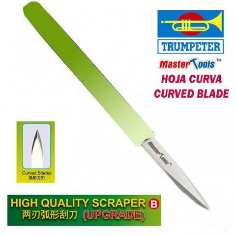 Curved Blades Scraper