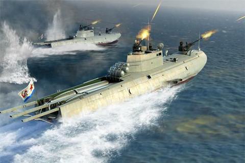 Soviet Navy G-5 Class Motor Torpedo Boat1/35