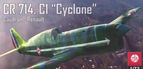 CR 714.C1 Cyclone Caudron-Renault  1/72