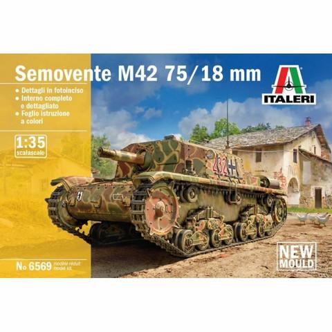 Semovente M42 da 75/18  1/35