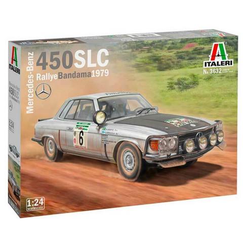 Mercedes Benz 450SLC Rallye Bandama 1979  1/24