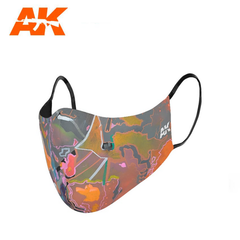 Urban Camouflage Face Mask 2
