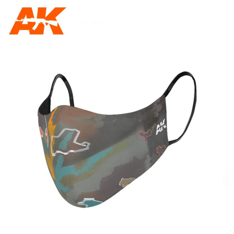 Urban Camouflage Face Mask 1