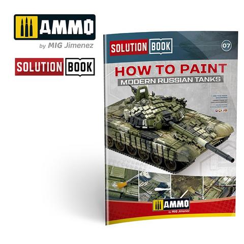 How to Paint Modern Russian AFVs (Solution Book)