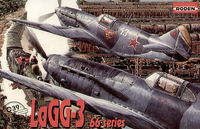 LAGG-3 Series 66 Soviet Fighter  1/72