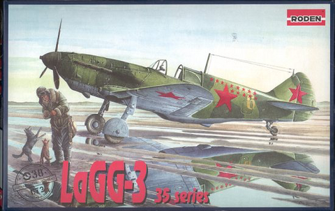 LaGG-3 Series 35 Soviet Fighter  1/72