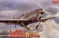 LaGG-3 Series 1, 5, 11 Soviet Fighter  1/72