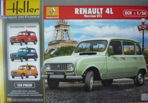Renault 4  1/24