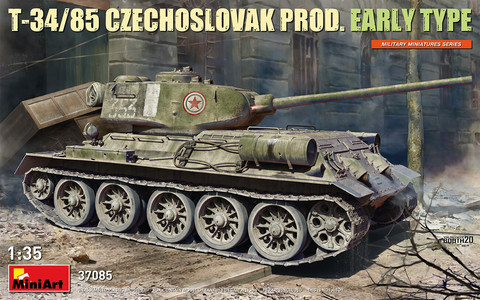 T-34/85 Czechoslovak Production Early Type 1/35