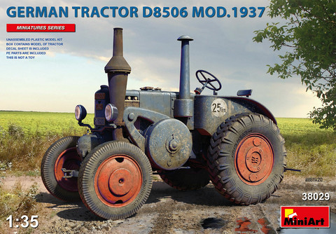 German Tractor D8506 Model 1937  1/35