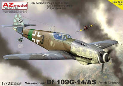 Messerschmitt Bf 109G-14/AS Reich Defence  1/72