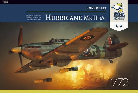 Hawker Hurricane Mk.II B/C Expert Set  1/72