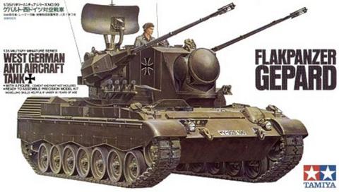 West German Flakpanzer Gepard   1/35