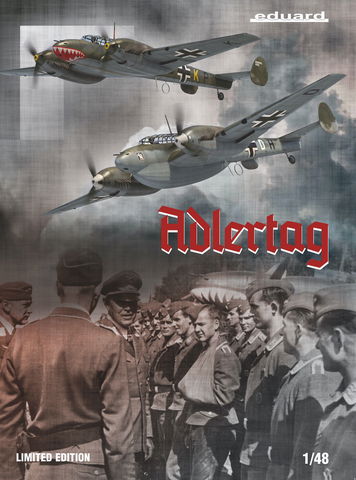 Adlertag (Messerschmitt Bf-110 C/D)  1/48