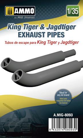 King Tiger & Jagdtiger Exhaust Pipes  1/35